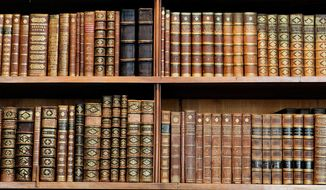 Can you guess the author of these classic books? (Shutterstock)