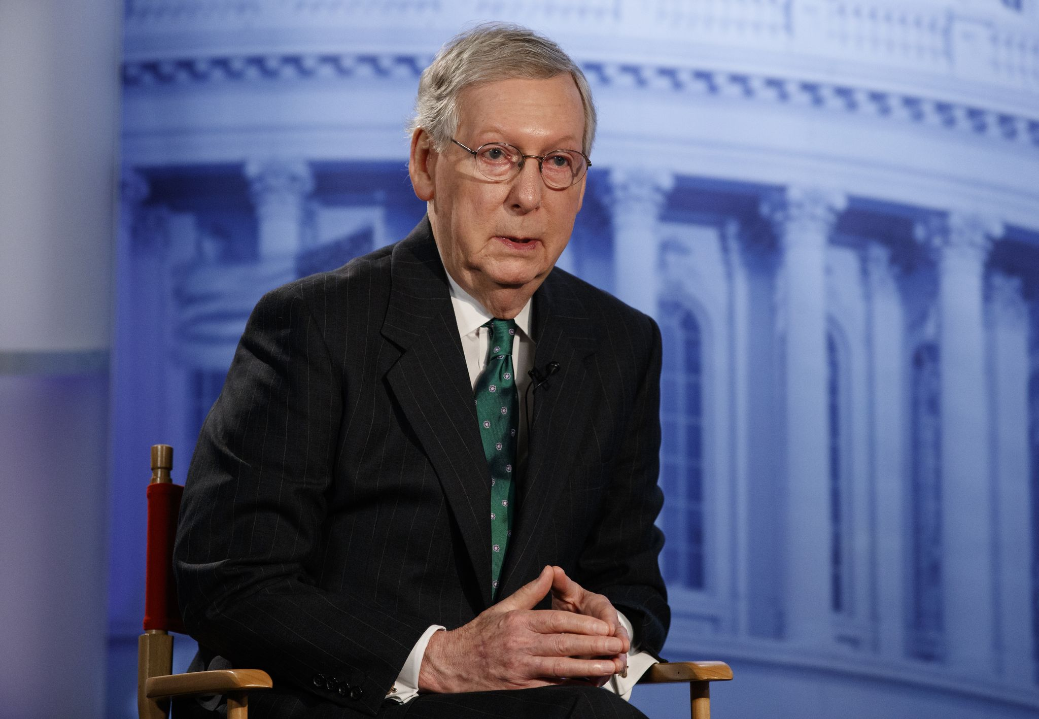 Mitch McConnell predicts 'record' turnout in election