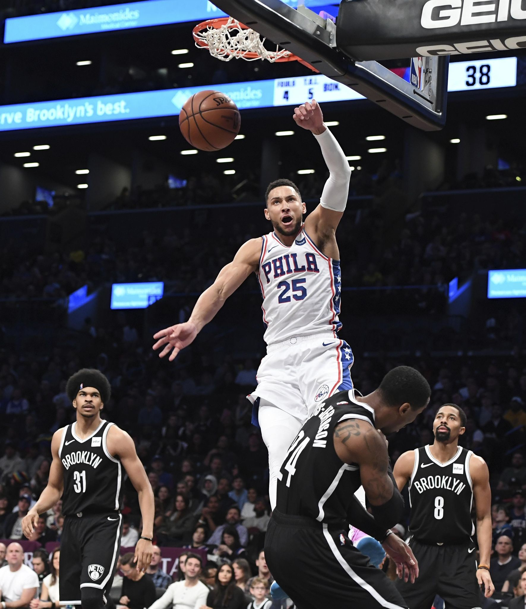Nets keep turnover-prone 76ers winless on the road