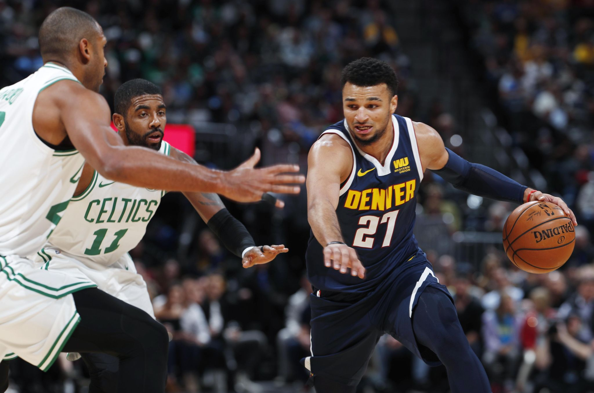 Murray scores 48 as Nuggets beat Celtics 115-107