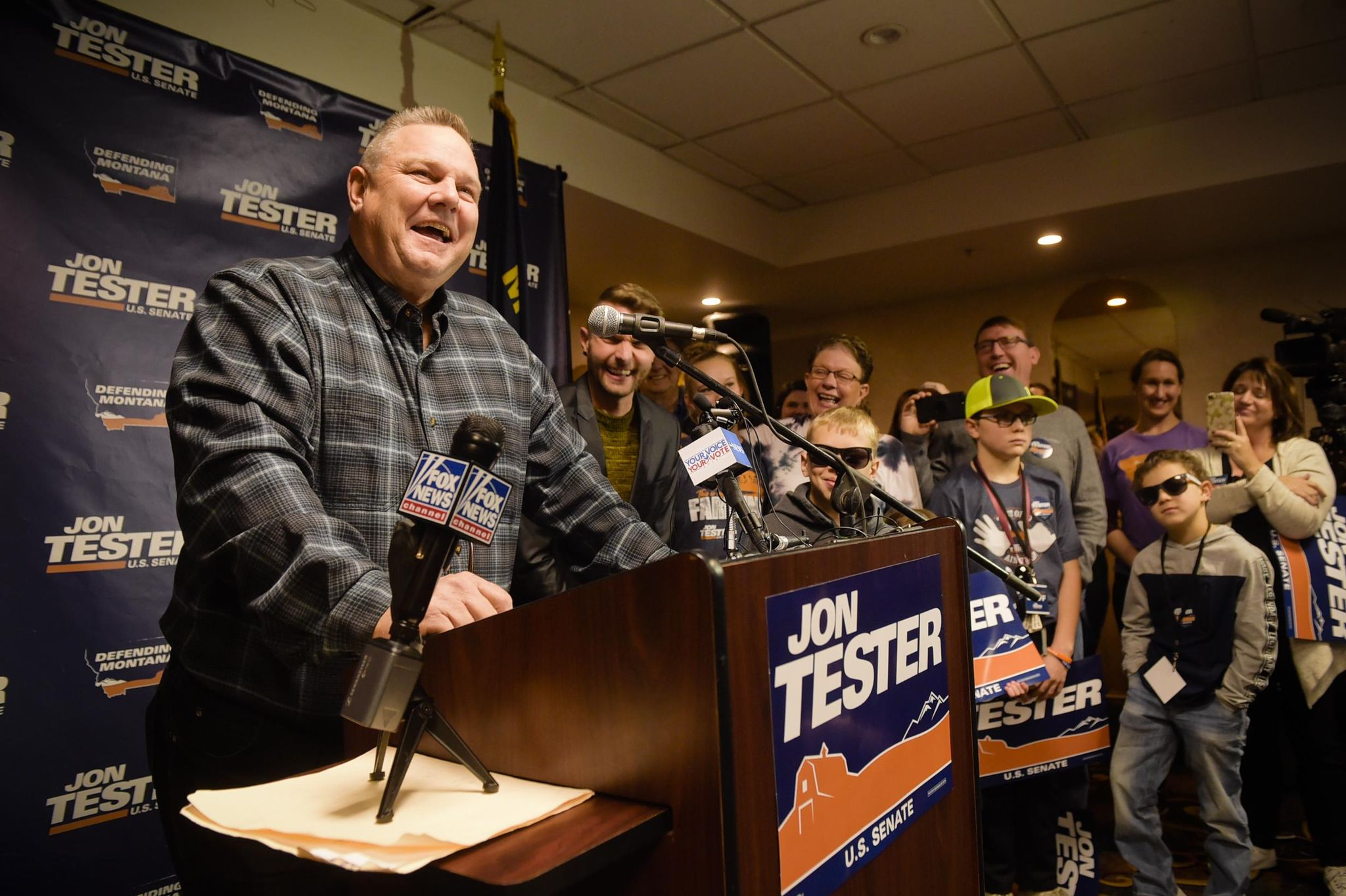 Tester wins by poaching Trump voters, holding his base