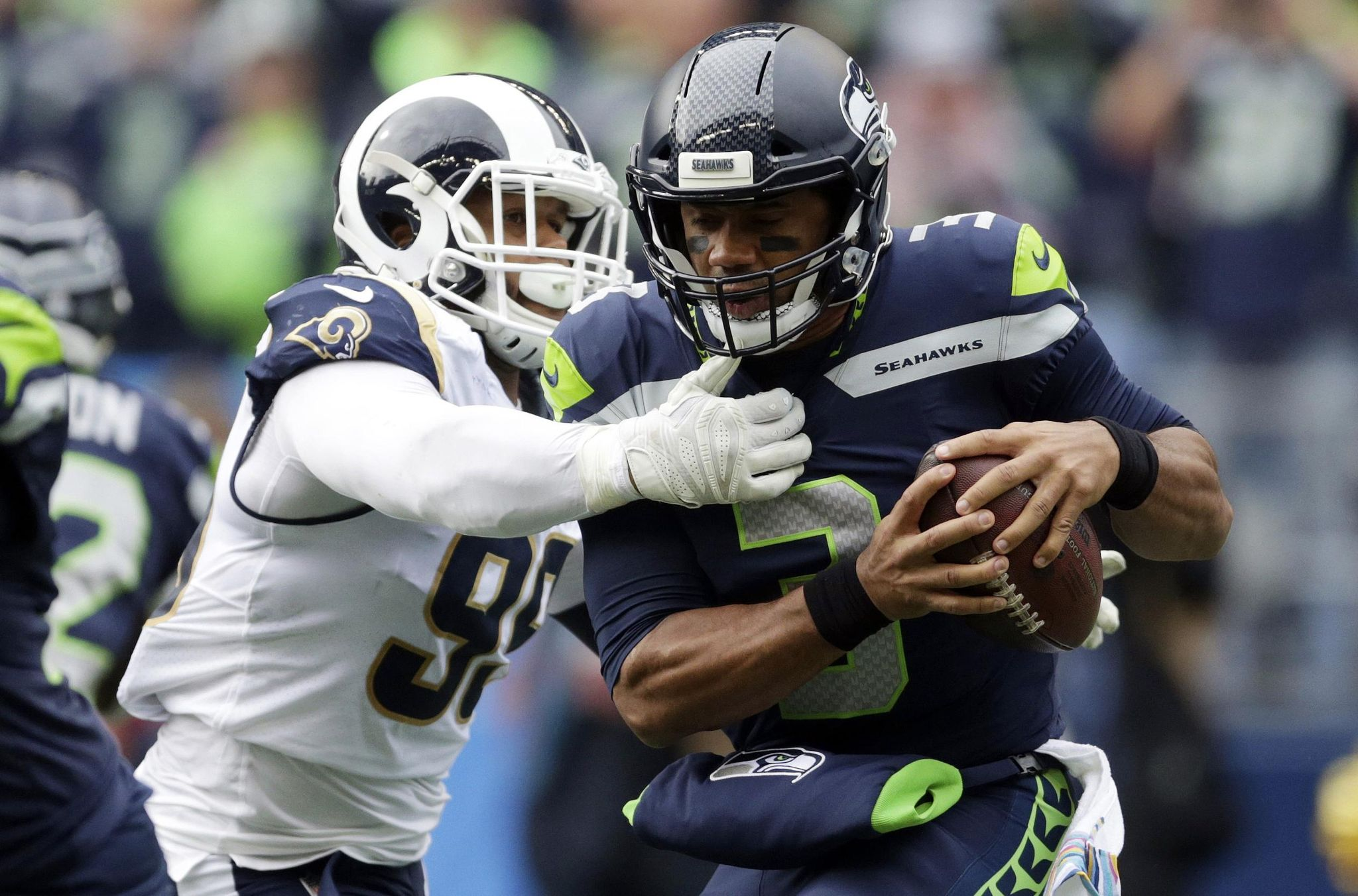 Rams eager to rebound from 1st loss, sweep Seahawks series