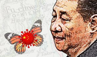 China Poison Butterfly Illustration by Greg Groesch/The Washington Times