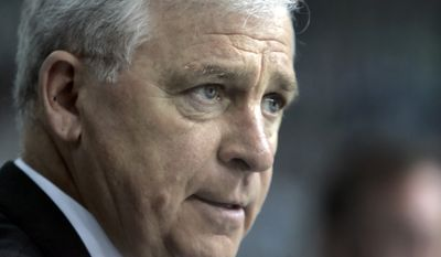 head coach Bryan Murray during an NHL hockey game against Tampa Bay Monday night March 6, 2006 in Tampa, Fla. (AP Photo/Chris O'Meara)