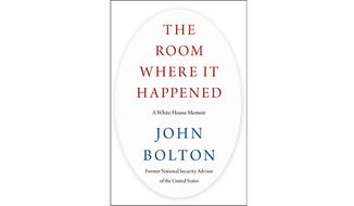 THE ROOM WHERE IT HAPPENED: A WHITE HOUSE MEMOIR (Book cover)