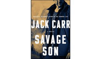 Savage Son (book cover)