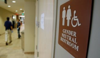 The Supreme Court ruled that employment protections include transgender people this year. As a result, some school bathroom rules may be struck down. (Associated Press)