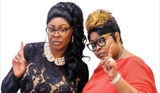 Diamond and SIlk have written a candid new book which reinforces their love of country and steadfast support of President Trump. (Image courtesy of Regnery Books)