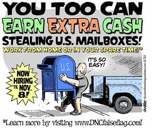 You too can earn extra cash stealing U.S. mailboxes!
