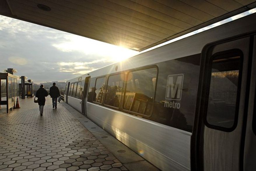 Riders at the Braddock Road Metro station in Alexandria on Sunday faced the first day of fare and fee increases as the system tries to close a budget gap.