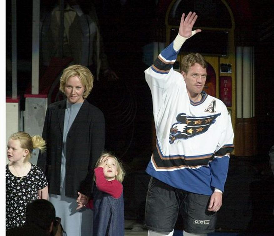 Calle Johansson played in 983 games in 15 seasons with the Washington Capitals. (The Washington Times)