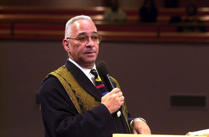 The Rev. Jeremiah A. Wright Jr. has gained notoriety for comments about the U.S. government.