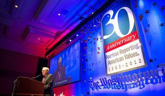 The Washington Times' 30th Anniversary Gala