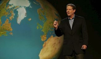 """**FILE** Former Vice President Al Gore in his 2006 documentary """"An Inconvenient Truth"""""""