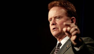 ** FILE ** Sen. Jim Webb was the chief author of the 21st Century GI Bill of Rights. (The Washington Times)