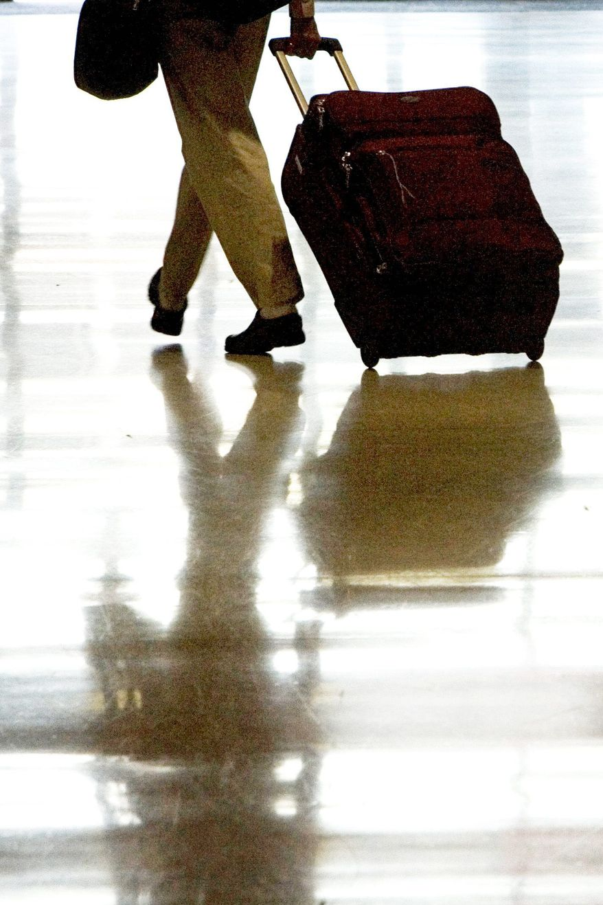 Associated Press American Airlines recently announced that it would charge passengers $15 for any bag checked on a domestic flight. With other airlines expected to follow its lead, more travelers are likely to try to fit everything into a carry-on-bag.