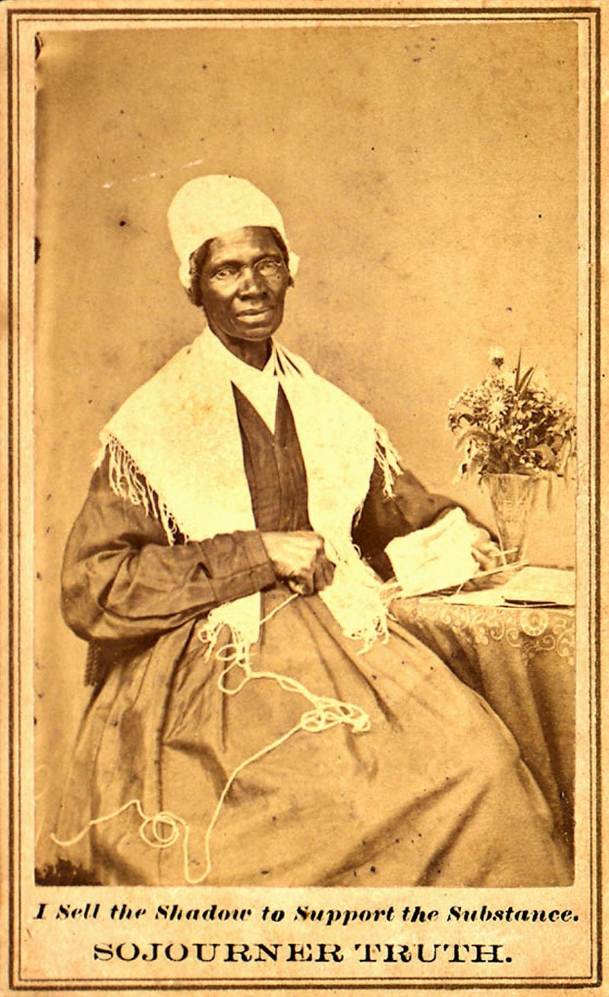 Born Isabella Baumfree into a life of slavery, Sojourner Truth fled to freedom in 1826. She went on to become an active advocate for the rights of blacks and women.