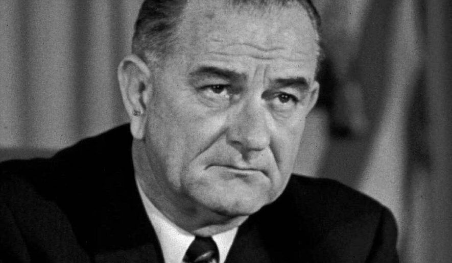 ASSOCIATED PRESS President Lyndon B. Johnson's Great Society programs included Medicare and Medicaid. **FILE**
