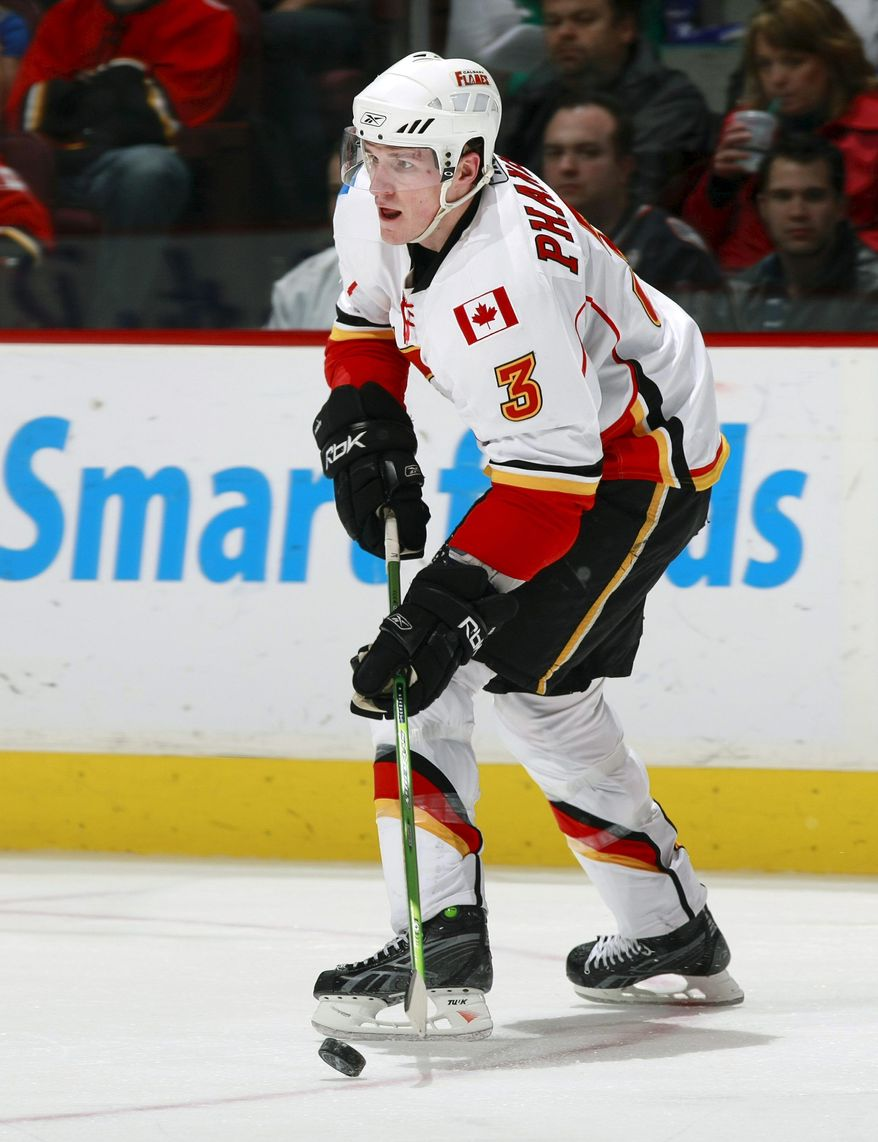 Getty Images NHL Central Scouting's Dan Marr compared Jacob Trouba to currentl NHL defenseman Dion Phaneuf, whom Calgary drafted ninth overall in 2003.