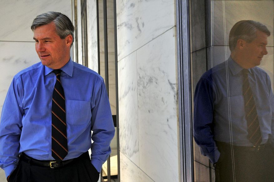 Sen. Sheldon Whitehouse, Rhode Island Democrat (The Washington Times)