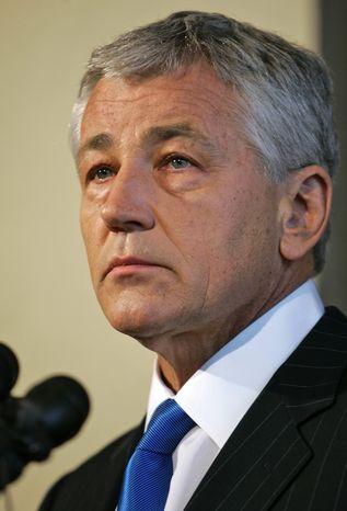 Former Sen. Chuck Hagel