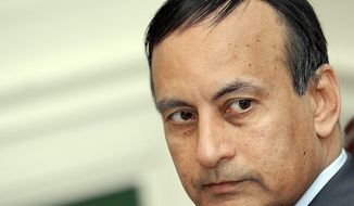 Pakistani ambassador Husain Haqqani (The Washington Times)