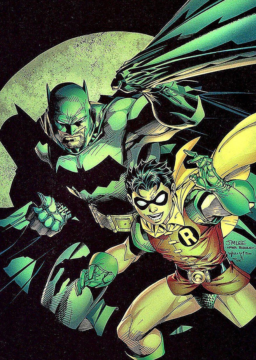 "Jim Lee's art shines in ""All Star Batman & Robin, the Boy Wonder."" (DC Comics)"