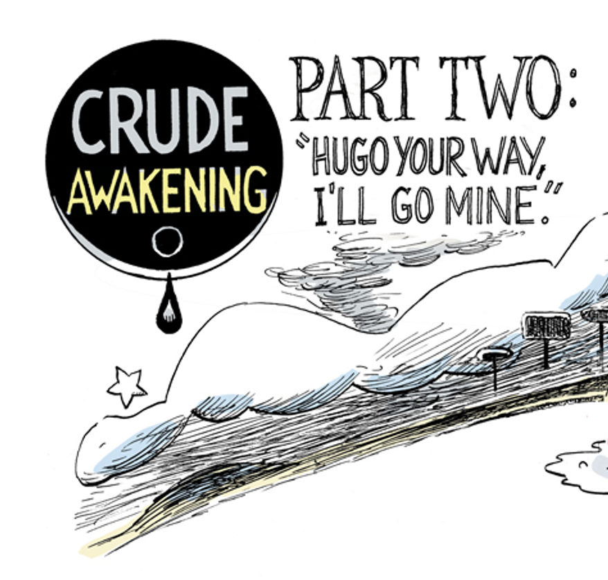 Crude Awakening by Alexander Hunter for The Washington Times