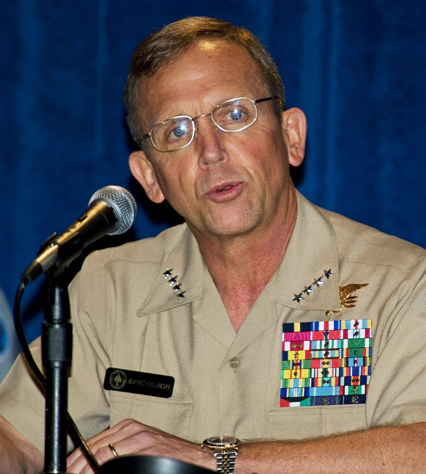 Adm. Eric T. Olson. Getty Images.