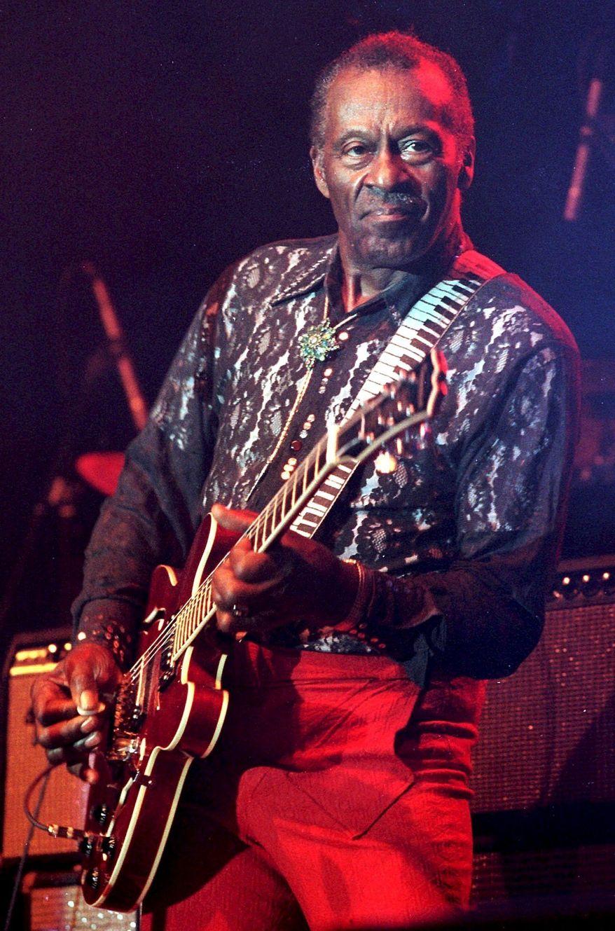 ** FILE ** Chuck Berry (Associated Press)