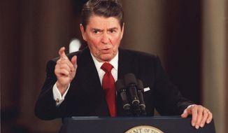 President Ronald Reagan (Associated Press)