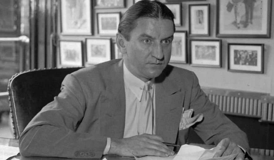 Washington Redskins founder and president George Preston Marshall (Associated Press)