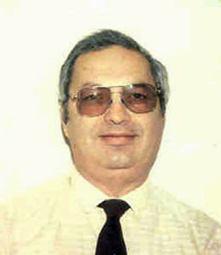 Noshir Gowadia, convicted of selling military secrets to China, is shown in an undated passport photo provided by the Gowadia family.