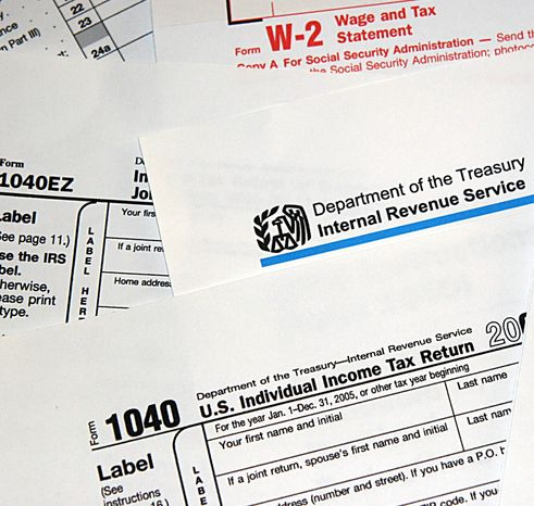 Internal Revenue Service (IRS) tax forms