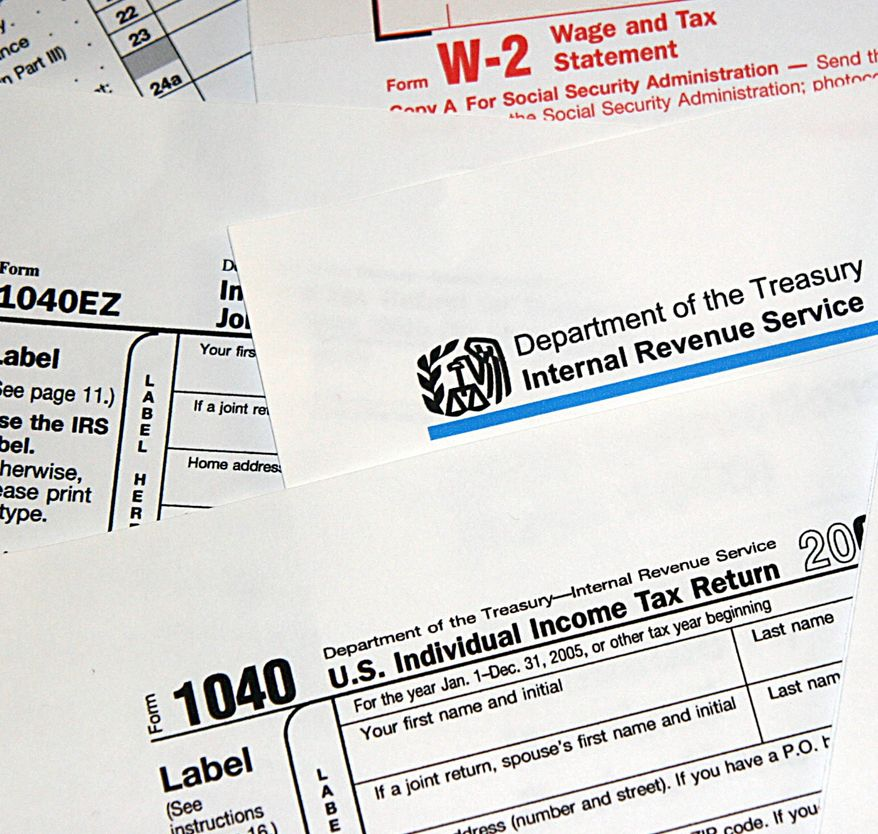 Internal Revenue Service (IRS) tax forms