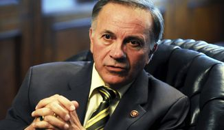 Former Rep. Tom Tancredo (Astrid Riecken/The Washington Times)