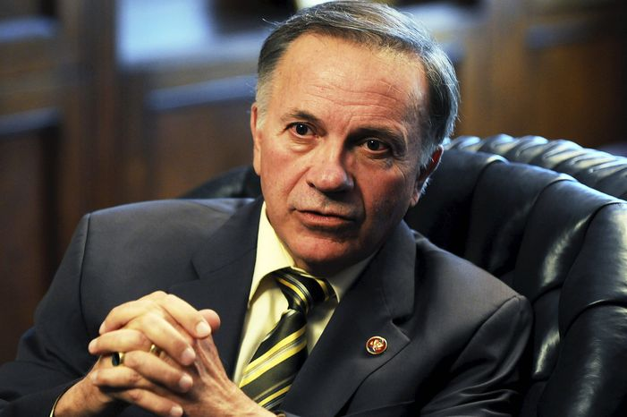 Former Rep. Tom Tancredo (Astrid Riecken/The Washington Times)
