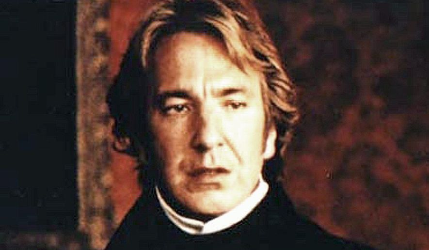 """Alan Rickman's diverse acting career has landed him roles in such films as """"Sense and Sensibility."""""""