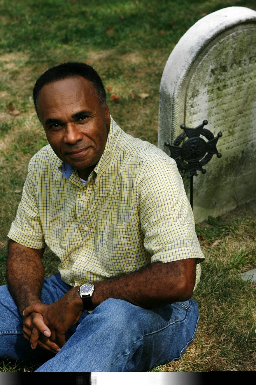 Maurice A. Barboza, whose great-great-grandfather fought in the Revolutionary War, is leading an effort to build a memorial to black patriots on the Mall. (Associated Press)