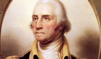 Rembrandt Peale's portrait of George Washington (Metropolitan Museum of Art)