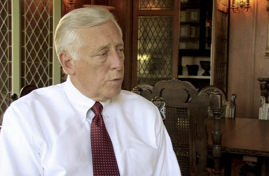 **FILE** Rep. Steny H. Hoyer, Maryland Democrat (The Washington Times)