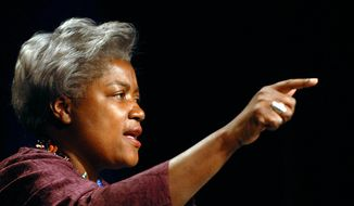 Donna Brazile. (The Washington Times) ** FILE **