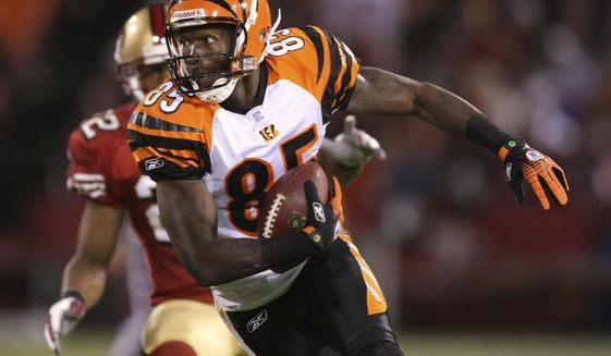 Getty Images Bengals wide receiver Chad Johnson legally changed his name to Chad Javon Ocho Cinco. ** FILE **