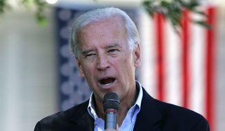 Joe Biden (Associated Press) ** FILE **