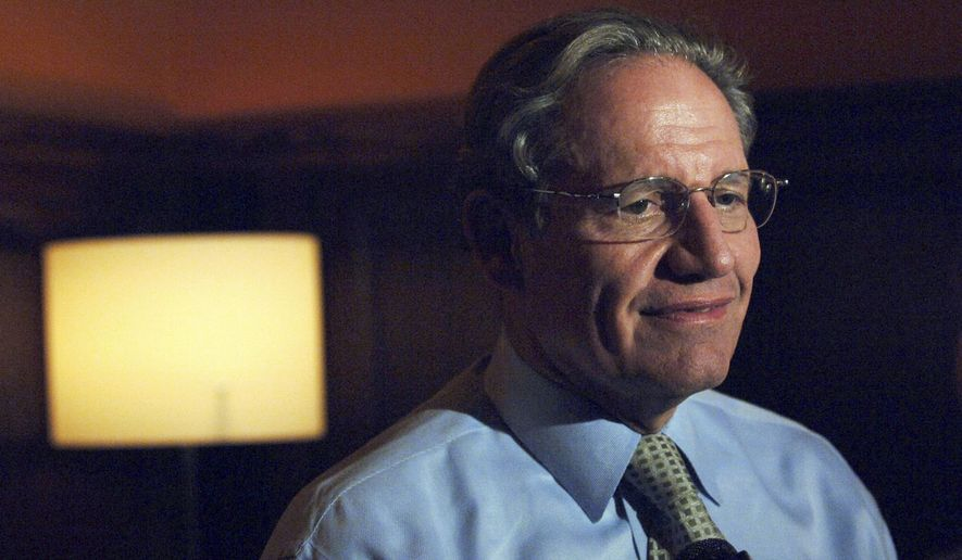 Journalist Bob Woodward