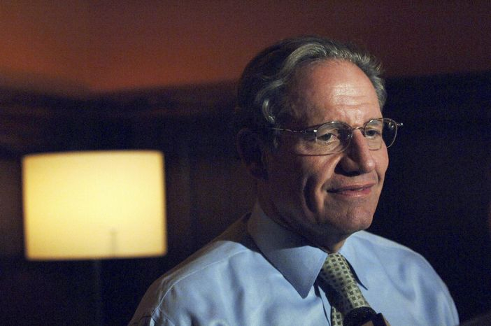 Journalist Bob Woodward