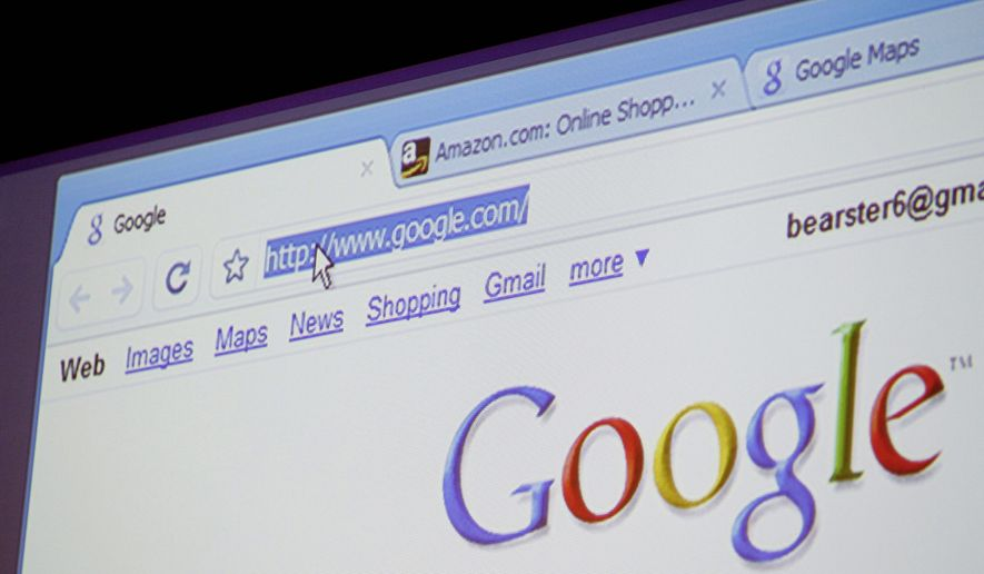 Google Chrome, Google Inc.'s new Web browser, is shown during a news conference at the company's headquarters in Mountain View, Calif., on Tuesday, Sept. 2, 2008. ** FILE **
