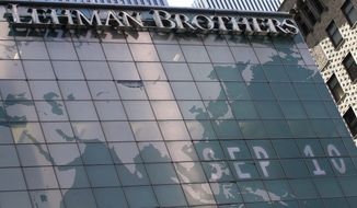 ** FILE ** Lehman Brothers' New York headquarters (Associated Press)