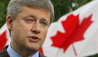 **FILE** Prime Minister Stephen Harper (Associated Press)