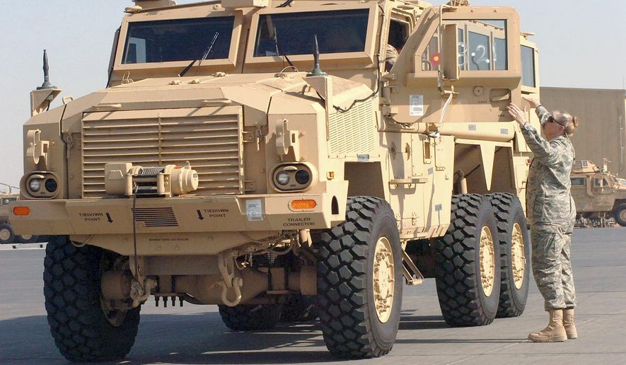 Mine resistant ambush protected (MRAP) vehicle
